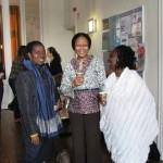 From left to right: Prof. Manuh, Dr. Wong, Dr. Bediako